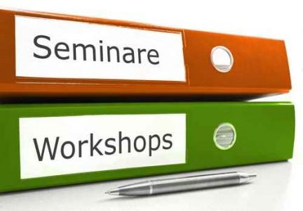 Unterlagen für Seminare und Workshops. Foto: stockpics - Fotolia