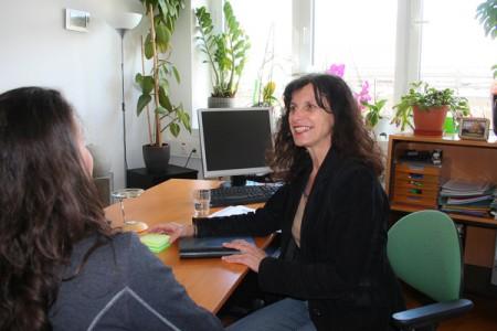 Intercom Coaching und Beratung - hier mit Mag. Renate Seile