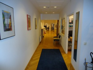 Intercom Bildungszentrum Foyer